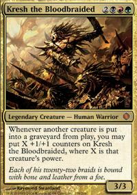 Kresh the Bloodbraided - Shards of Alara