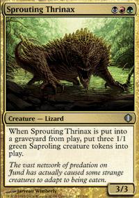Sprouting Thrinax - Shards of Alara