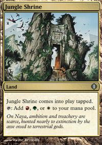 Jungle Shrine - Shards of Alara