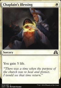 Chaplain's Blessing - Shadows over Innistrad