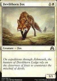 Devilthorn Fox - Shadows over Innistrad