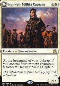 Hanweir Militia Captain - Shadows over Innistrad