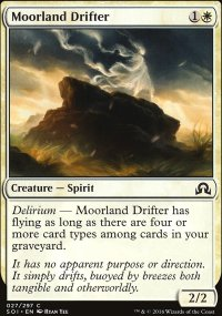 Moorland Drifter - Shadows over Innistrad