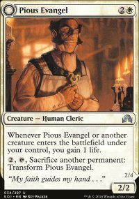 Pious Evangel - Shadows over Innistrad
