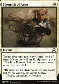 Strength of Arms - Shadows over Innistrad