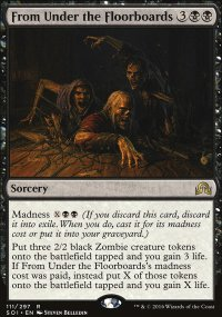 From Under the Floorboards - Shadows over Innistrad