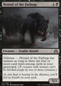Hound of the Farbogs - Shadows over Innistrad