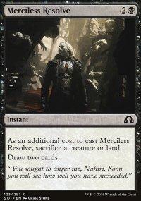 Merciless Resolve - Shadows over Innistrad