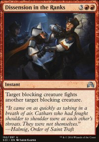 Dissension in the Ranks - Shadows over Innistrad