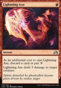 Lightning Axe - Shadows over Innistrad