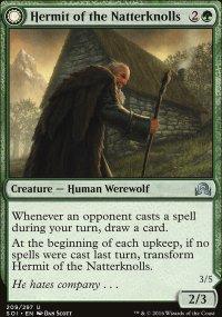 Hermit of the Natterknolls - Shadows over Innistrad