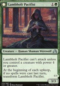 Lambholt Pacifist - Shadows over Innistrad