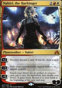 Nahiri, the Harbinger - Shadows over Innistrad