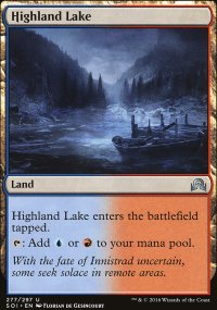 Highland Lake - Shadows over Innistrad