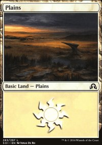 Plains 1 - Shadows over Innistrad