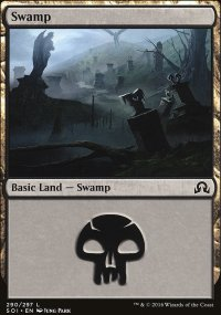 Swamp 2 - Shadows over Innistrad