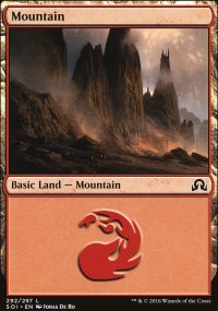 Mountain 1 - Shadows over Innistrad