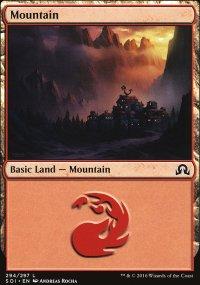 Mountain 3 - Shadows over Innistrad