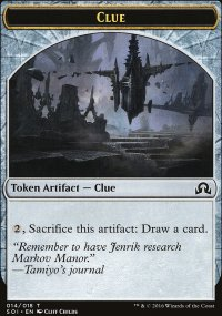 Clue 4 - Shadows over Innistrad