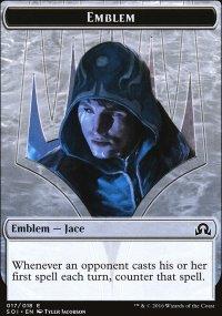 Emblem Jace, Unraveler of Secrets - Shadows over Innistrad