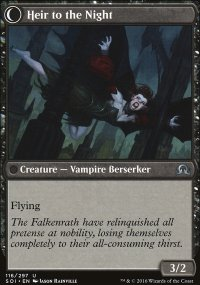 Heir to the Night - Shadows over Innistrad