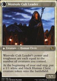 Westvale Cult Leader - Shadows over Innistrad