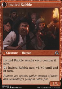 Incited Rabble - Shadows over Innistrad