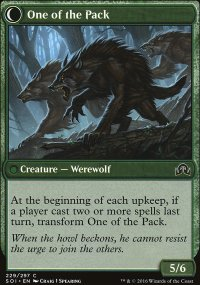 One of the Pack - Shadows over Innistrad