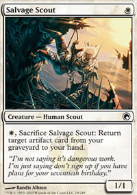 Salvage Scout - Scars of Mirrodin