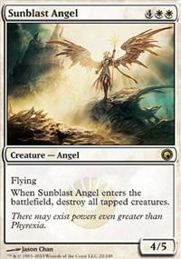 Sunblast Angel - Scars of Mirrodin