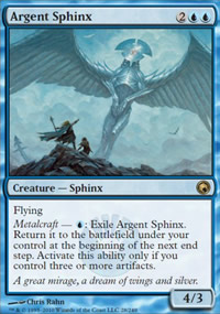 Argent Sphinx - Scars of Mirrodin