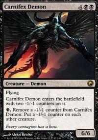 Carnifex Demon - Scars of Mirrodin