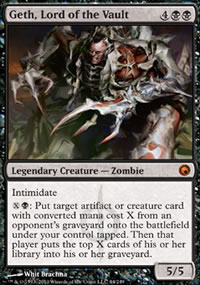 Geth, Lord of the Vault - Scars of Mirrodin
