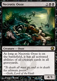 Necrotic Ooze - Scars of Mirrodin