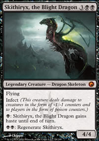 Skithiryx, the Blight Dragon - Scars of Mirrodin