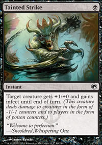 Tainted Strike - Scars of Mirrodin