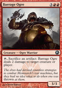 Barrage Ogre - Scars of Mirrodin