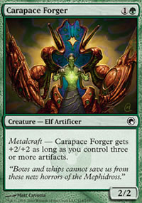 Carapace Forger - Scars of Mirrodin