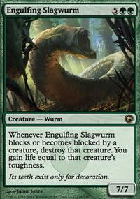 Engulfing Slagwurm - Scars of Mirrodin