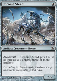 Chrome Steed - Scars of Mirrodin
