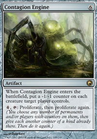 Contagion Engine - Scars of Mirrodin