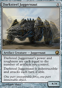 Darksteel Juggernaut - Scars of Mirrodin