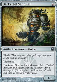 Darksteel Sentinel - Scars of Mirrodin