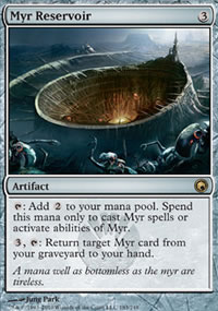 Myr Reservoir - Scars of Mirrodin