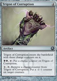 Trigon of Corruption - Scars of Mirrodin