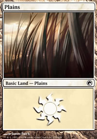 Plains 4 - Scars of Mirrodin