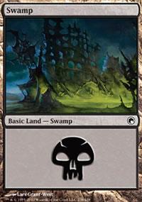 Swamp 1 - Scars of Mirrodin