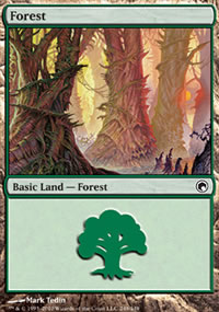 Forest 4 - Scars of Mirrodin