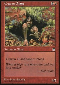 Craven Giant - Stronghold