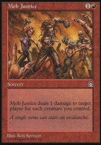 Mob Justice - Stronghold